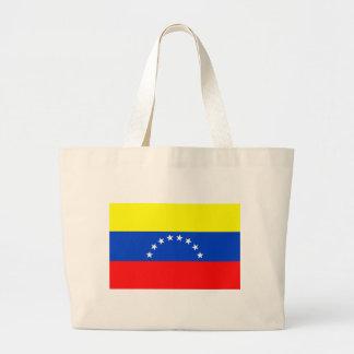 Bandera de Venezuela Bolsa Tela Grande