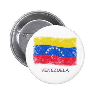 Bandera de Venezuela del Grunge Pins