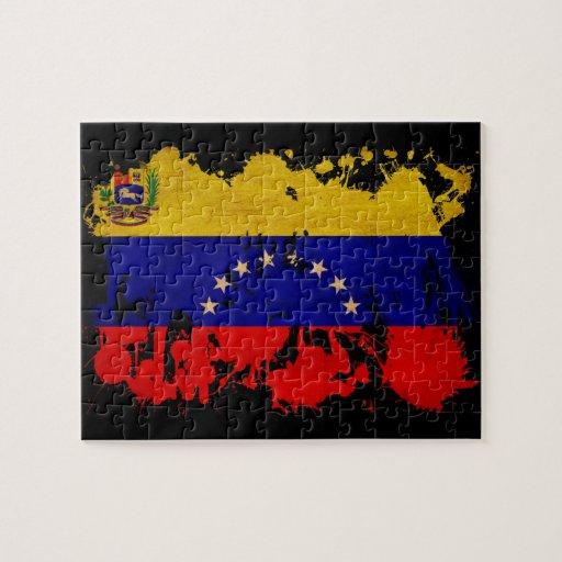 Bandera de Venezuela Rompecabeza Con Fotos