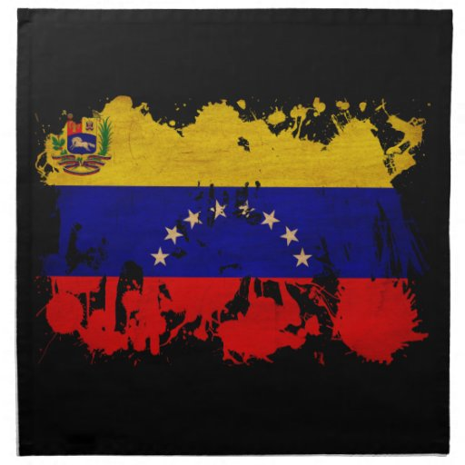 Bandera de Venezuela Servilletas De Papel