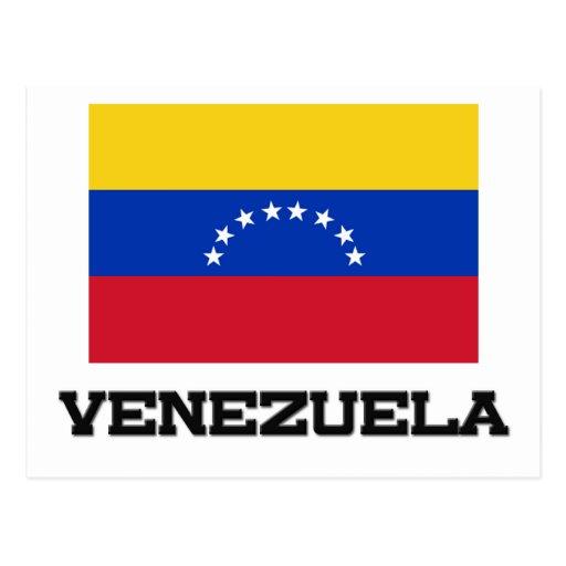 Bandera de Venezuela Postales