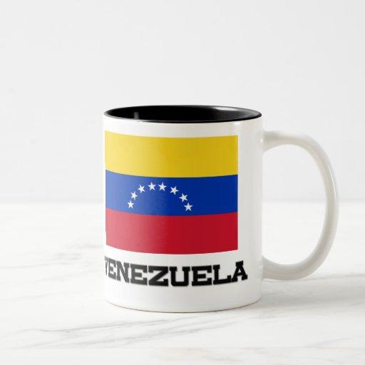 Bandera de Venezuela Tazas De Café
