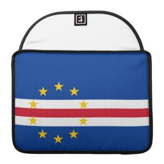 Bandera de Verdian del cabo Funda Macbook Pro
