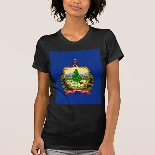 Bandera de Vermont Camisetas