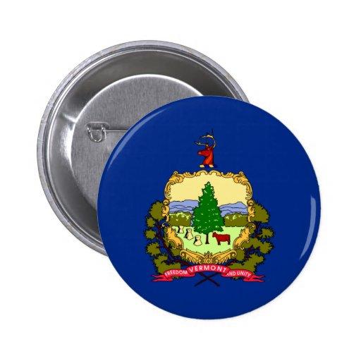 Bandera de Vermont Pins