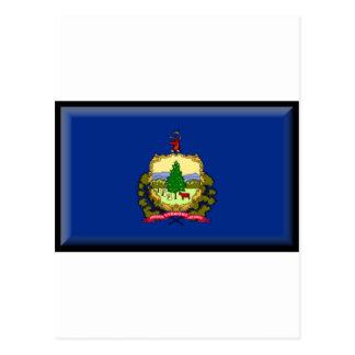 Bandera de Vermont Tarjeta Postal