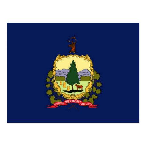 Bandera de Vermont Tarjetas Postales