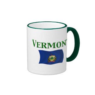 Bandera de Vermont Taza