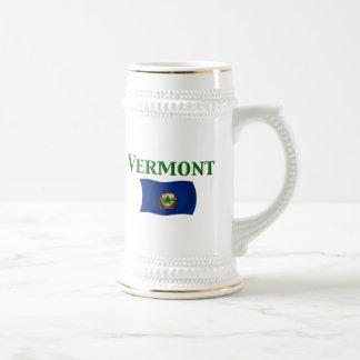 Bandera de Vermont Taza De Café
