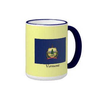 Bandera de Vermont Taza De Dos Colores