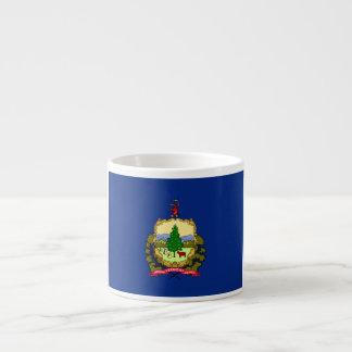 Bandera de Vermont Taza Espresso