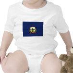 Bandera de Vermont Trajes De Bebé