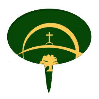Bandera de Victoria Decoración Para Tarta