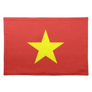 Bandera de Vietnam en MoJo Placemat Mantel Individual