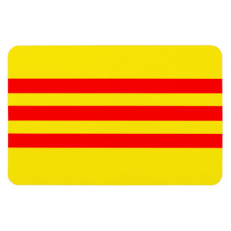 Bandera de Vietnam (nueva) Imanes Rectangulares