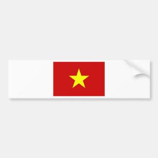 Bandera de Vietnam Pegatina Para Auto