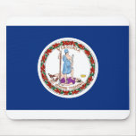 Bandera de Virginia Alfombrilla De Raton