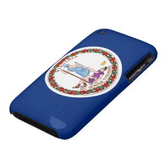 Bandera de Virginia iPhone 3 Case-Mate Cárcasas