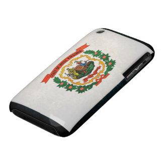 Bandera de Virginia Occidental Case-Mate iPhone 3 Fundas