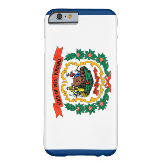 Bandera de Virginia Occidental Funda Para iPhone 6 Barely There