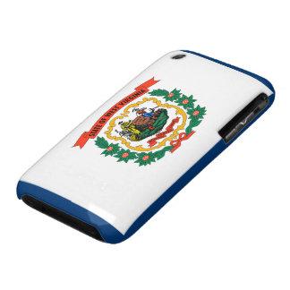 Bandera de Virginia Occidental iPhone 3 Protectores