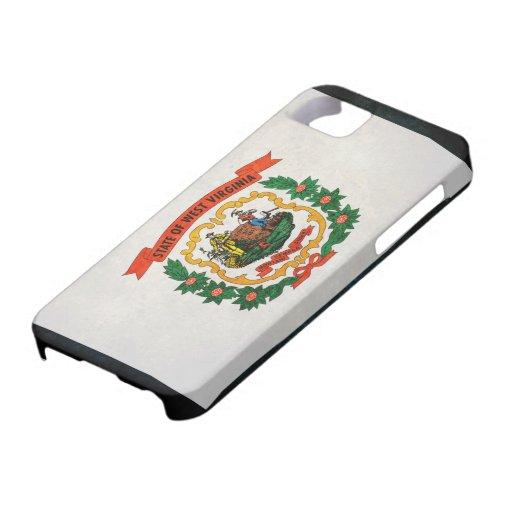 Bandera de Virginia Occidental iPhone 5 Funda