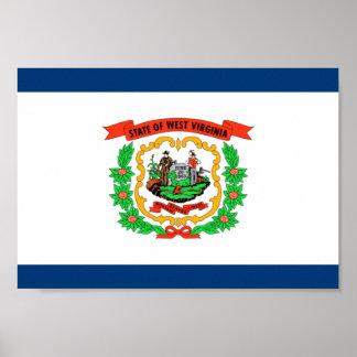 Bandera de Virginia Occidental Posters