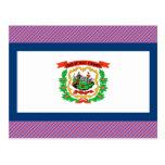 Bandera de Virginia Occidental Postal
