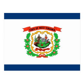 Bandera de Virginia Occidental Postales
