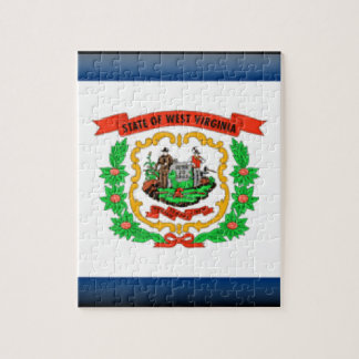 Bandera de Virginia Occidental Puzzle
