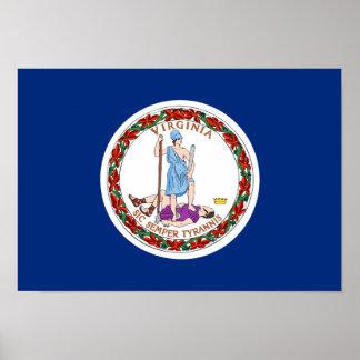 Bandera de Virginia Impresiones