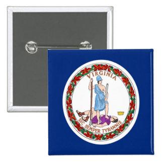 Bandera de Virginia Pins