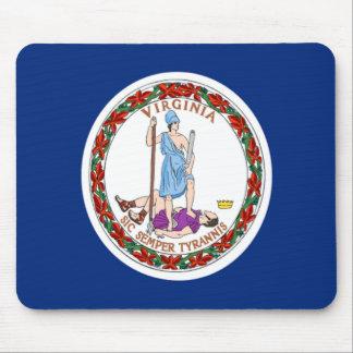 Bandera de Virginia Tapete De Raton