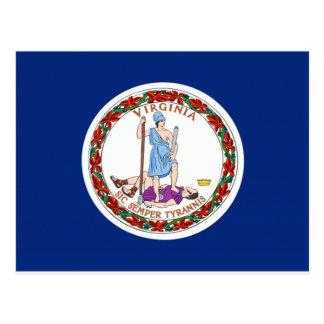 Bandera de Virginia Tarjetas Postales