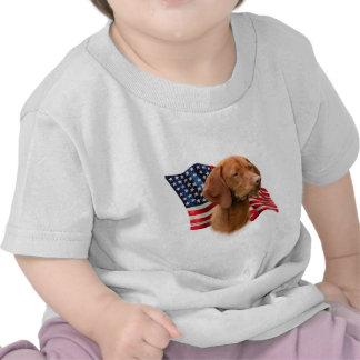 Bandera de Vizsla Camisetas