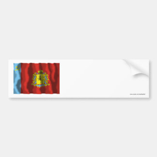 Bandera de Vladimir Oblast Pegatina Para Auto