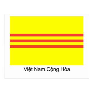 Bandera de VNCH Tarjeta Postal