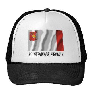 Bandera de Vologda Oblast Gorro De Camionero