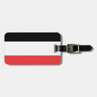Bandera de Volta superior Etiqueta De Equipaje