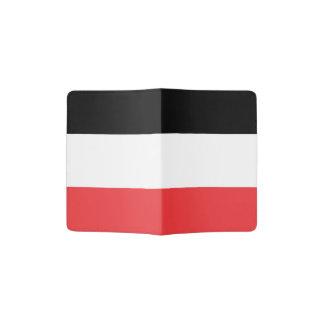 Bandera de Volta superior Porta Pasaporte