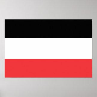 Bandera de Volta superior Póster