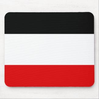 Bandera de Volta superior Tapetes De Ratón