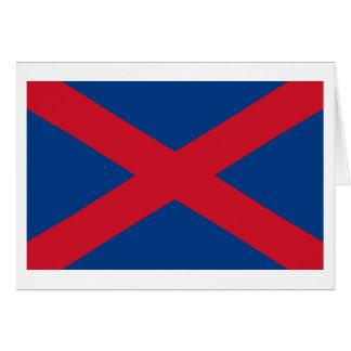Bandera de Voortrekker Tarjeta De Felicitación
