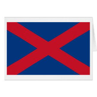 Bandera de Voortrekker Tarjeta Pequeña