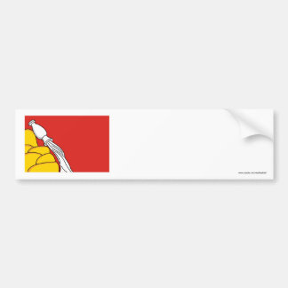 Bandera de Voronezh Oblast Pegatina Para Auto