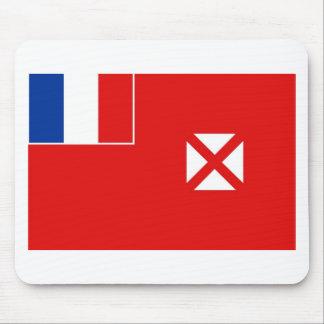 Bandera de Wallis y de Futuna Alfombrillas De Raton