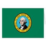 Bandera de Washington Felicitación