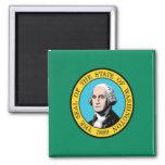 Bandera de Washington Iman Para Frigorífico