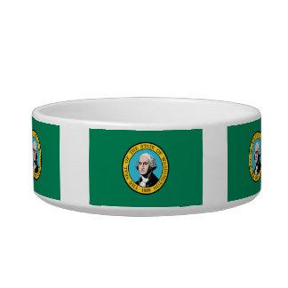 Bandera de Washingtonian Comedero Para Mascota