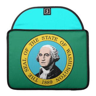 Bandera de Washingtonian Fundas Para Macbooks